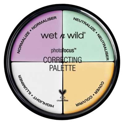 Wet N Wild Photo Focus Correcting Palette Concealer
