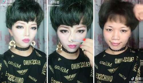 makyajla değişim