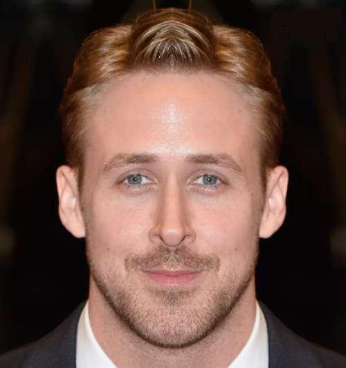 ryan gosling simetrik yüz