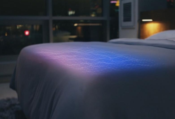 ısınan sıcak akıllı yatak