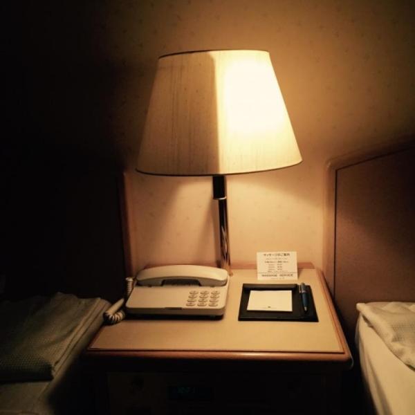 çift taraflı gece lambası