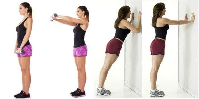 göğüsleri sertleştirmek için egzersiz