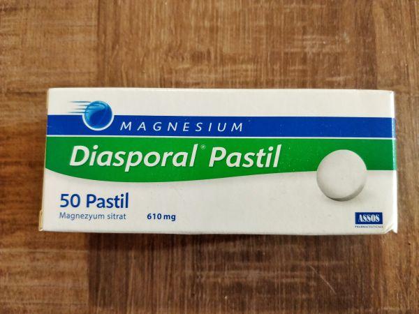 Diasporal magnezyum tablet pastil faydaları yan etkileri fiyat