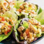 Glutensiz Sebzeli Tavuk Wrap Tarifi Yapımı