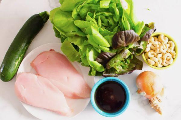 Glutensiz sebzeli tavuklu wrap yapımı tarifi malzemeleri