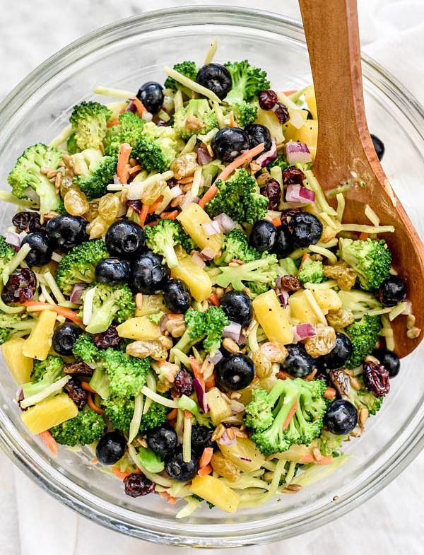 brokoli tarifleri ananaslı brokoli salatası