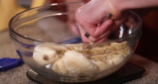 Muzlu ekmek banana bread şekersiz