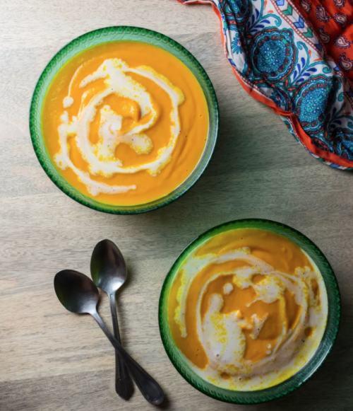 miso zencefilli tatlı patates çorbası tarifi