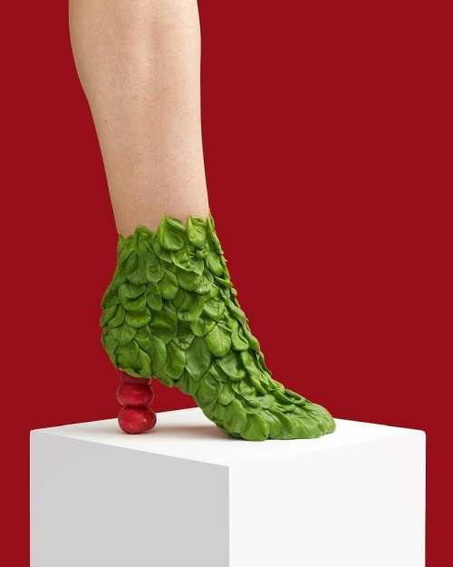 fesleğen turp ayakkabı
