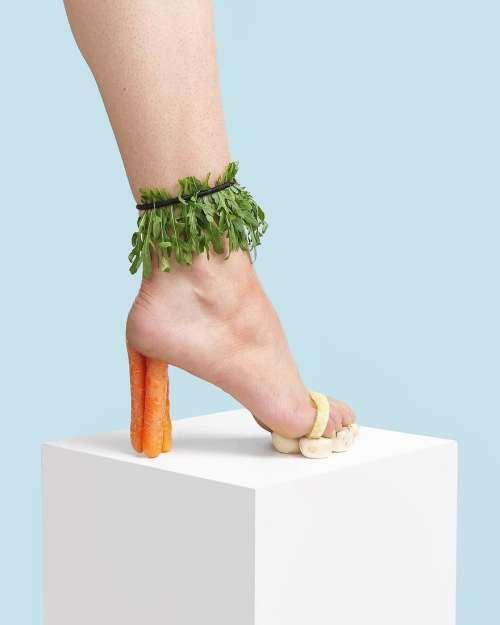 havuç topuk ayakkabı