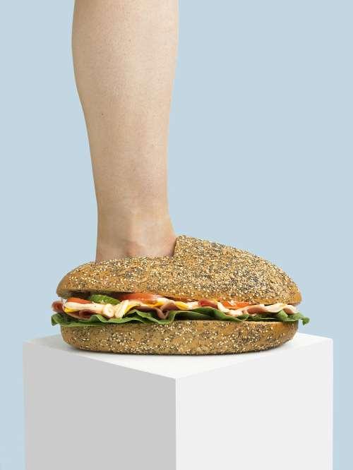 sandeviç ayakkabı