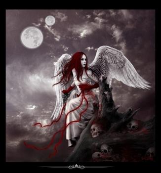 kanlı melek resmi