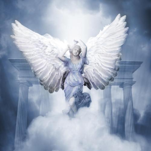 kanatlı melek resmi