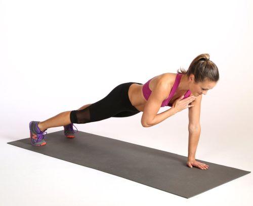 evde spor hareketleri plank