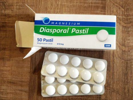 Diasporal Magnezyum Tablet Pastil Nedir? Nasıl Kullanılır?
